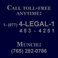 (877) 4-LEGAL-1 (877-453-4251), (765) 282-0786