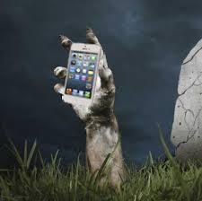 phone grave